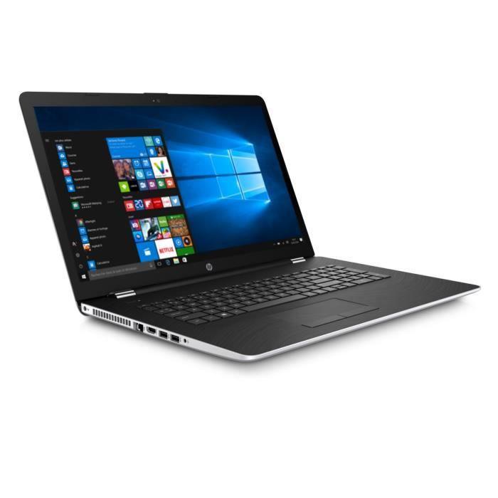"""ORDINATEUR PORTABLE HP PC PORTABLE- 17.3""""- 17BS006NF- 4 Go de RAM - Wi"""