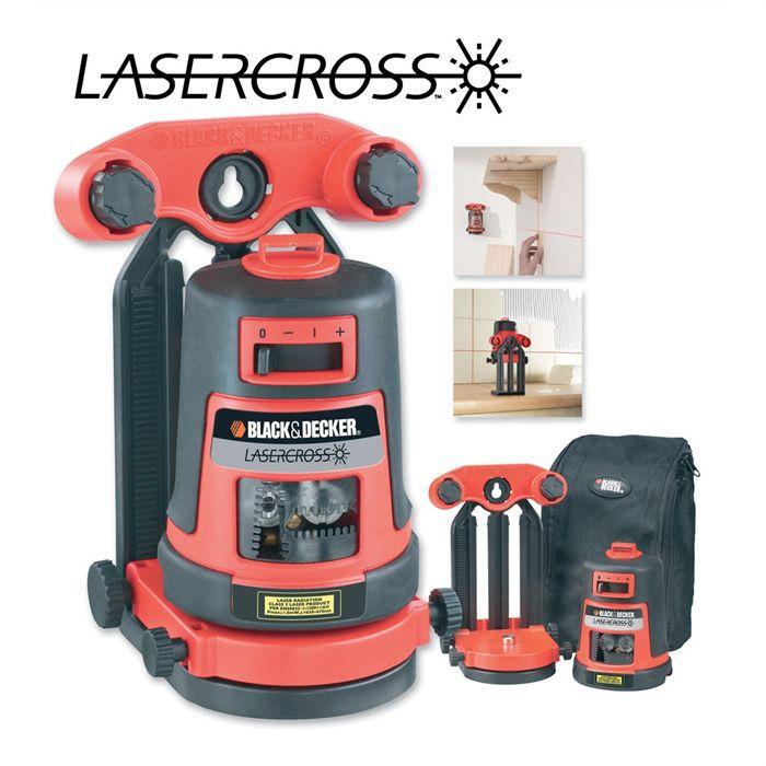 black decker niveau laser 3 fonctions achat vente niveau fil a plomb niveau laser 3. Black Bedroom Furniture Sets. Home Design Ideas