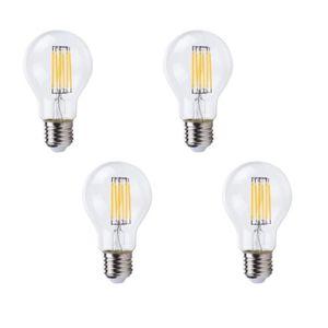 AMPOULE - LED XQ-Lite Lot de 4 ampoules filament LED E27 A60 XQ1