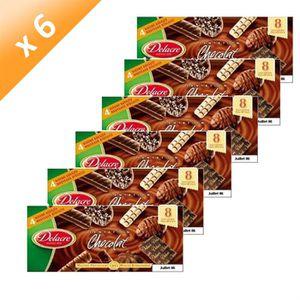 BISCUITS SECS DELACRE Tentation Chocolat 150gr (x6)