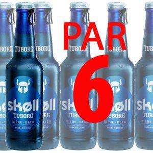BIÈRE Skoll 66cl bière Vodka Citron 6° x6