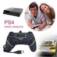 MANETTE JEUX VIDÉO Manette de jeu vidéo USB pour PS4 cable 1.8M