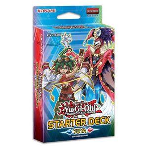 Starter Démarrage Yugioh - A partir de 6ans - Mixte - Livré ? l'unité - ARC-V, le starter Yuya est spécialement créé pour préparer les nouveaux duellistes ? entrer en sc?ne ainsi que l''ajout de nouvelles cartes de soutien