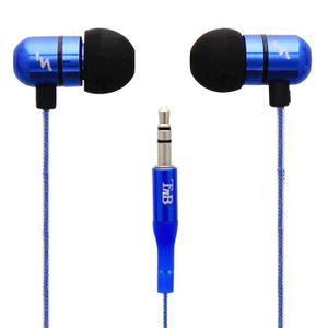 TNB HI-LIGHT Écouteurs intra-auriculaires bleu