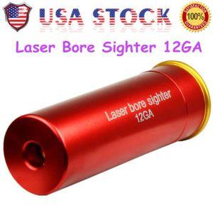 ECLAIRAGE LASER 12GA Laser Cartridge Bore Sighter Pistolet de visé