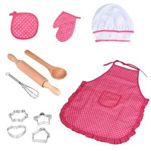 TABLIER DE CUISINE Enfants cuisson et de cuisson - 11pcs Cuisine Cost