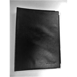 PACK PRESENTATION Classeur Porte Cartes De Visite Elegance Noir 300