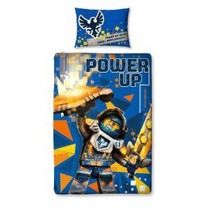 HOUSSE DE COUETTE SEULE Lego Housse de Couette Imprimé Nexo Knights Power