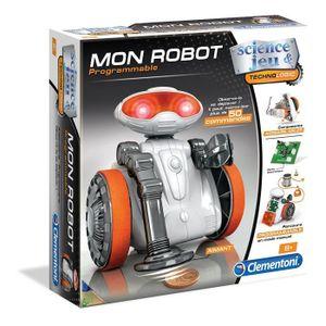 EXPÉRIENCE SCIENTIFIQUE Clementoni - 52113-Mon robot-Jeu scientifique