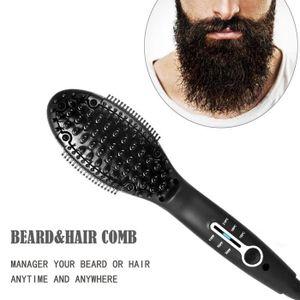 BROSSE SOUFFLANTE CODR Peigne barbe Anion lissante et chauffante Ant