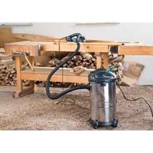 ASPIRATEUR CENTRAL Aspirateur eau et poussière 1000 W / 30 L Sichler