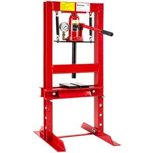 PRESSE Presse d'Atelier Hydraulique 6 Tonnes avec 4 Nivea