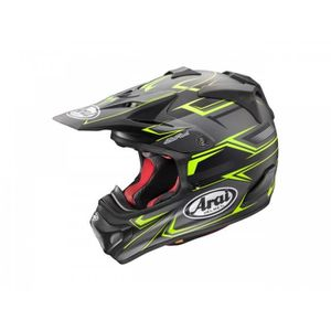 CASQUE MOTO SCOOTER Casque Cross Arai Mx-V Sly Yellow Taille Xs