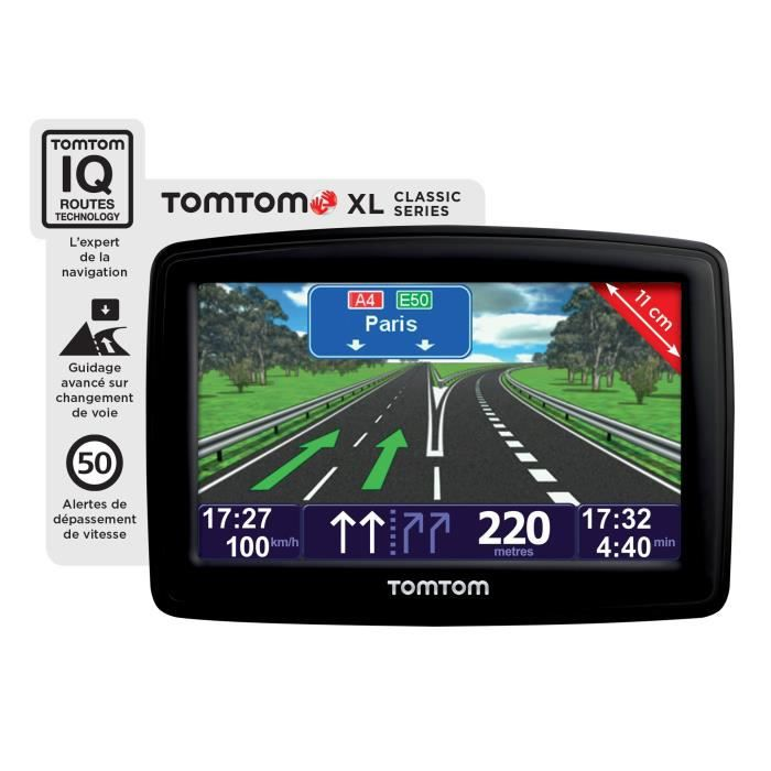 GPS AUTO GPS TomTom XL Classic Europe 11 pays