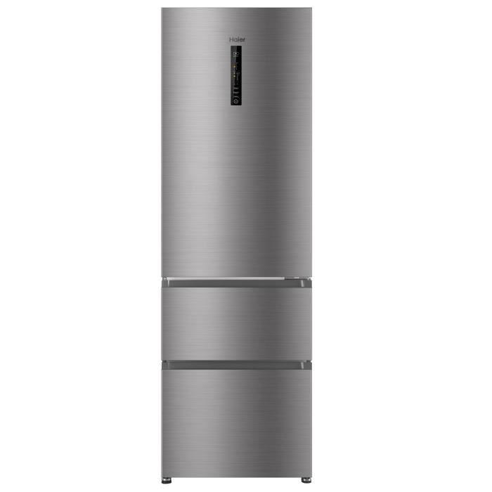HAIER HB-635CSHJ - Réfrigérateur multi-portes - 330L (233+97) - Froid ventilé - A+ - L59,5 x H190,5