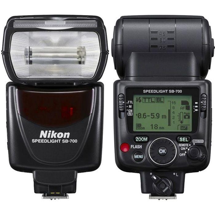 NIKON SB-700 Flash avec zoom motorisé et écran LCD - Filtre inclus