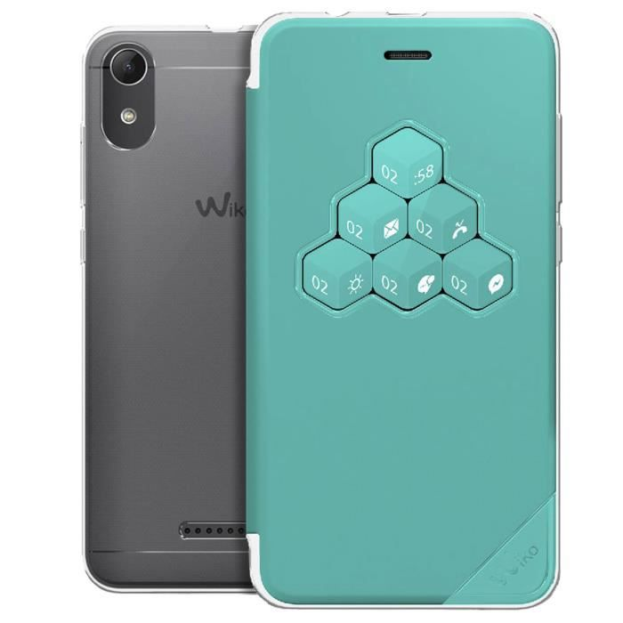 WIKO Wicube Coque pour Lenny 4 - Vert d'eau