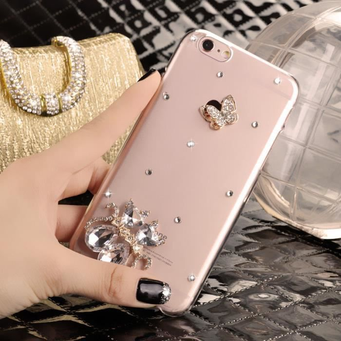 coque huawei y6 2017 strass