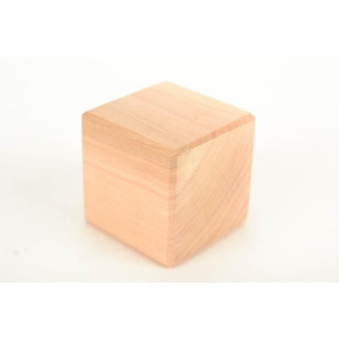 Cube en bois pour faire un jouet original achat vente - Objet decoratif original ...