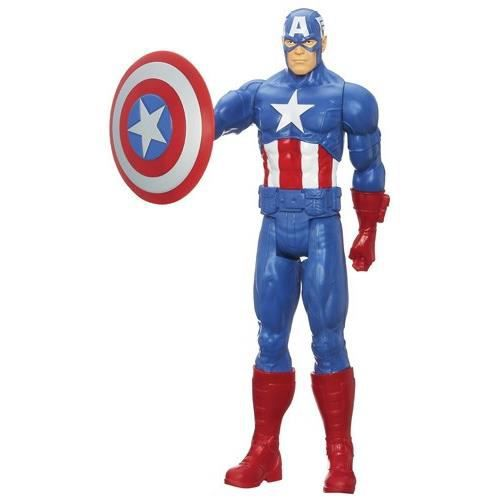 avengers figurine 30 cm captain america achat vente figurine personnage cdiscount. Black Bedroom Furniture Sets. Home Design Ideas