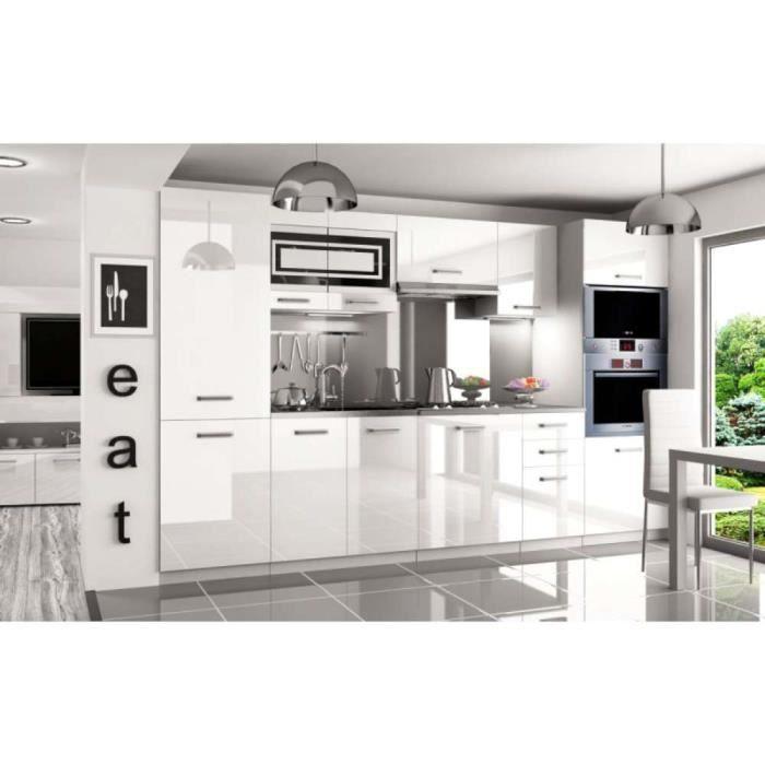 Nouvelle Cuisine équipée: JUSThome Syntka Pro LED Cuisine équipée Complète 300 Cm