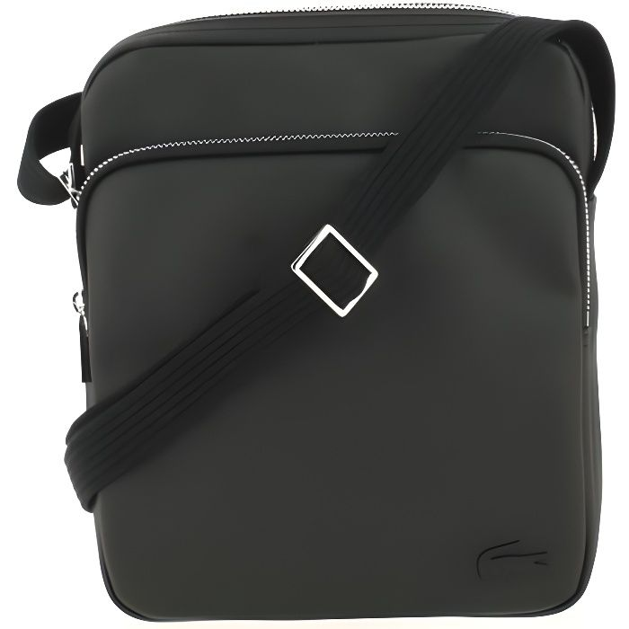 d95f4bd45a Sacoche Lacoste Crossover Bag Black. - Achat / Vente sacoche ...