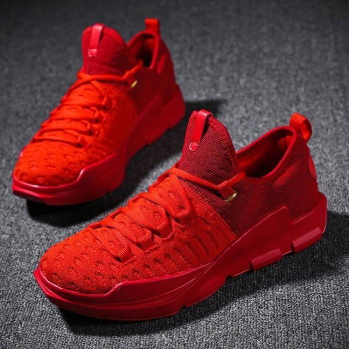 Basket Chaussures de tennis décontractées pour hommes chaussures de sport XRs2oWd