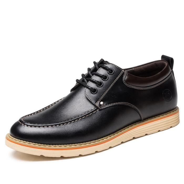 0f8aefa6db33 Chaussure Homme Cuir Automne et Hiver Classique Chaussures de ville  BTYS-XZ189