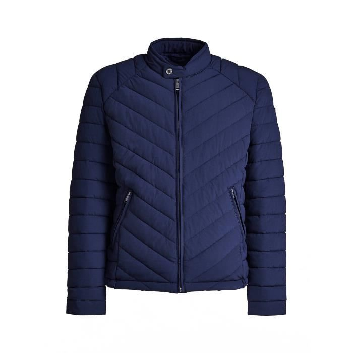 Guess Doudoune Homme Super Fitted M84L05 Bleu Navy Taille M