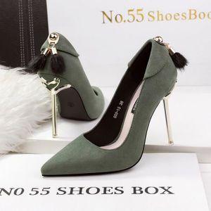 Fashionfolie888 - Femmes chaussures escarpins talon aiguille élégante 20-70 TAUPE HRcgC