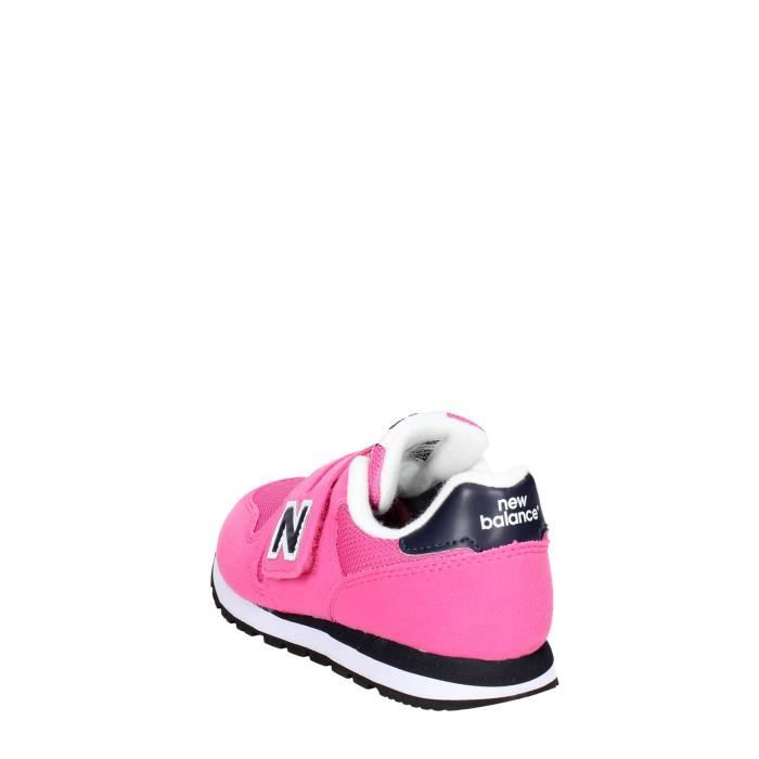 New Balance Petite Sneakers Fille Fuchsia, 33