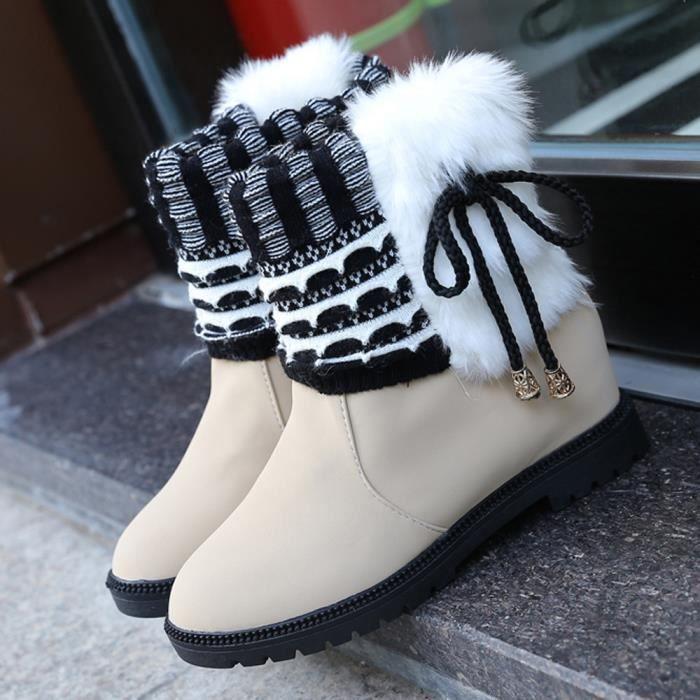 Bottines bguu7731328 De Chaudes D'hiver Femmes Chaussures Bottes YxFqIH0w