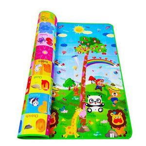 TAPIS DE JEU HTF® 200*180cm grand arbre enfants jouent tapis
