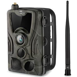 CAMÉSCOPE NUMÉRIQUE HC-801LTE - Caméra de chasse MMS 4G - IR Vision No