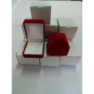 ECRIN - ETUI A BIJOUX 1 Ecrin bague en velours rouge Boîte à Bijoux Anne