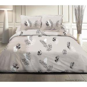 parure de lit grande taille achat vente parure de lit grande taille pas cher cdiscount. Black Bedroom Furniture Sets. Home Design Ideas