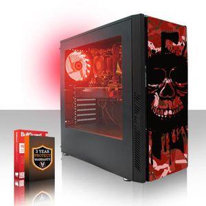 UNITÉ CENTRALE  FIERCE PC de bureau pour Gamer EXILE 406253 - AMD