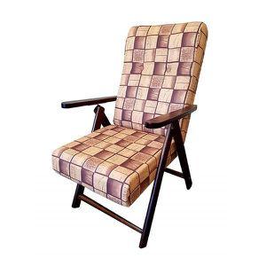 FAUTEUIL Fauteuil relax inclinable Molisana en bois réglabl