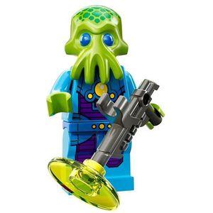 ASSEMBLAGE CONSTRUCTION LEGO Le soldat Extraterrestre série 13