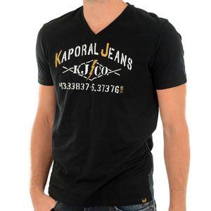 T-SHIRT Tee shirt KAPORAL 5 JEANS homme makao noir