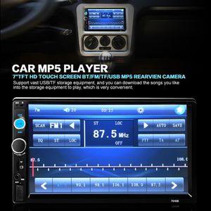 LECTEUR HD DVD 7 pouces voiture multimédia radio lecteur MP5 Blue