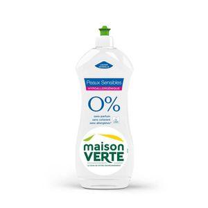 LIQUIDE LAVE-VAISSELLE MAISON VERTE Liquide vaiselle 0% - 750 ml