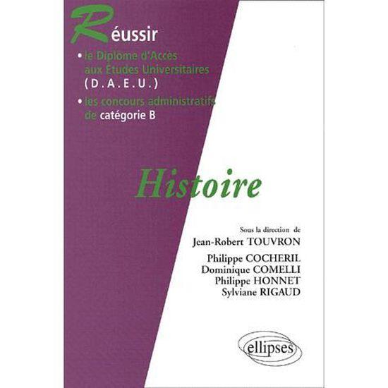 44f8fe85a10 Réussir le D.A.E.U.   les concours administrati... - Achat   Vente livre  Jean-Robert Touvron - Philippe Cocheril - Philippe Comelli - Philippe  Honnet ...