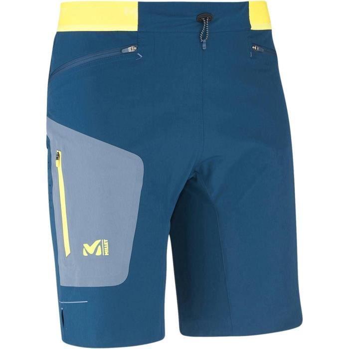 MILLET Short de randonnée LTK Speed Long - Homme - Bleu