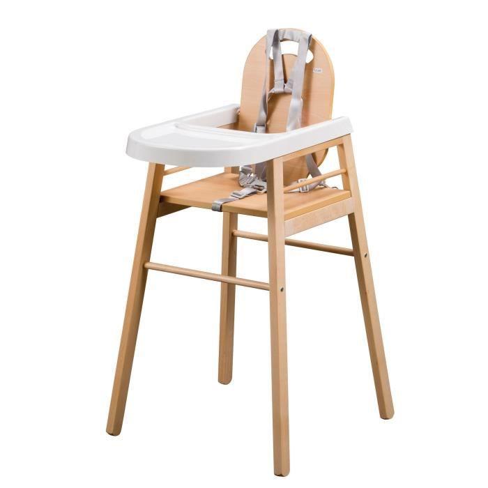chaise haute en bois tineo pas cher. Black Bedroom Furniture Sets. Home Design Ideas
