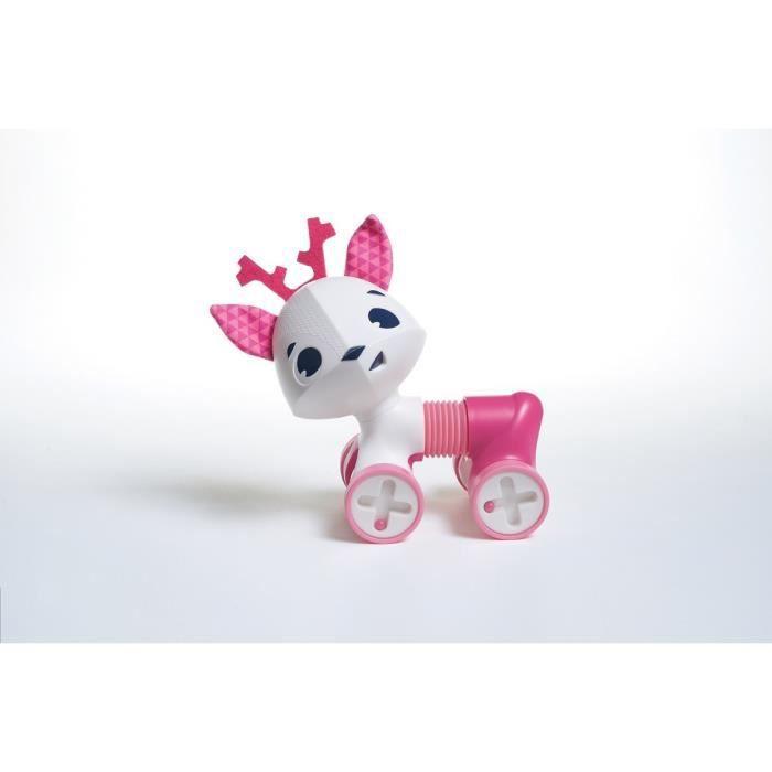 TINY LOVE Jouet d'eveil Tiny Roller Friends Violet Florence la biche