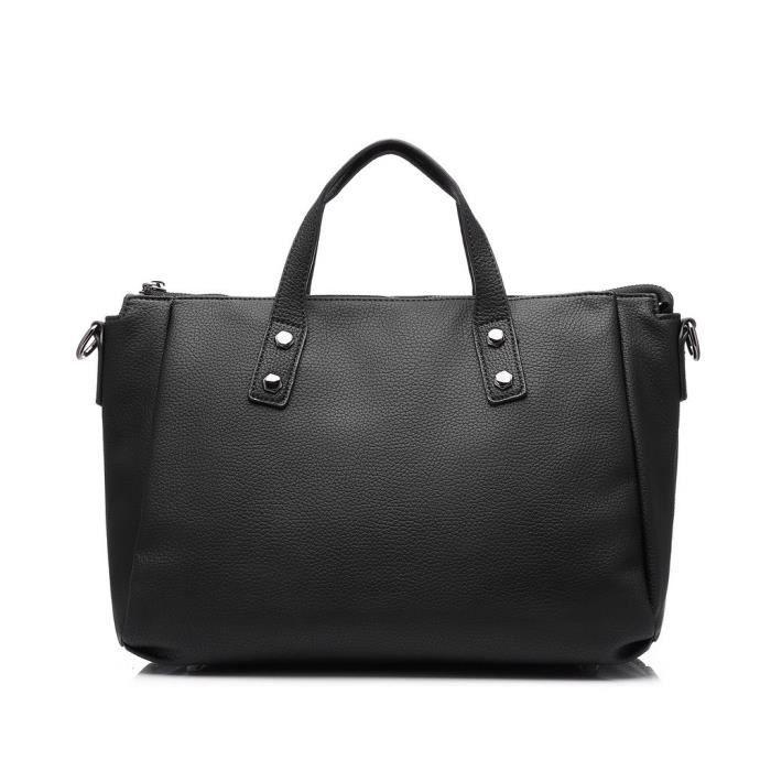 Grand sac fourre-tout en cuir pour dames Sac à main Sac à bandoulière Femmes Sac bandoulière XMB9S