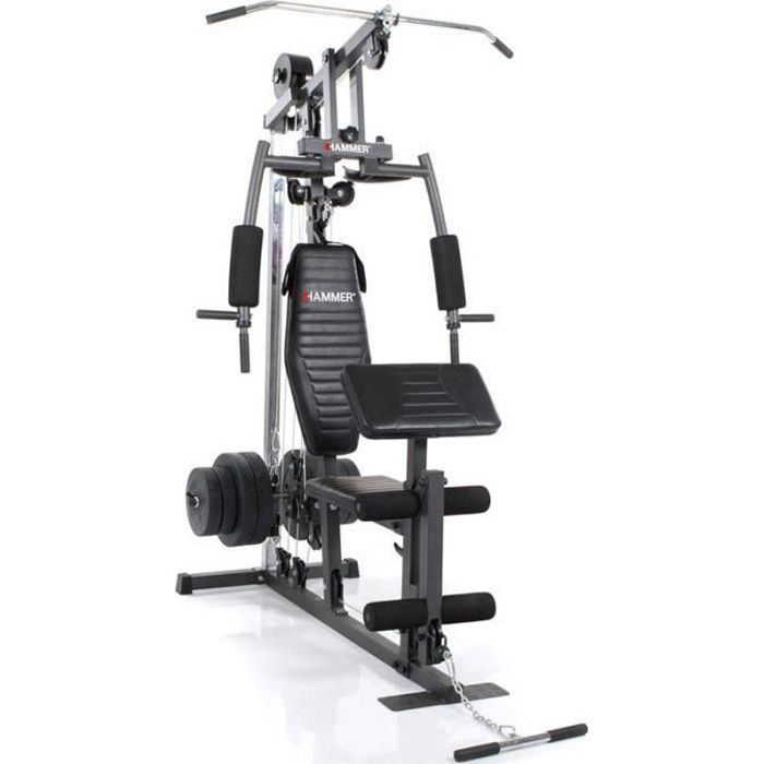 APPAREIL CHARGE GUIDÉE HAMMER Station Musculation Multigym California Xp ... 27a207a1b01