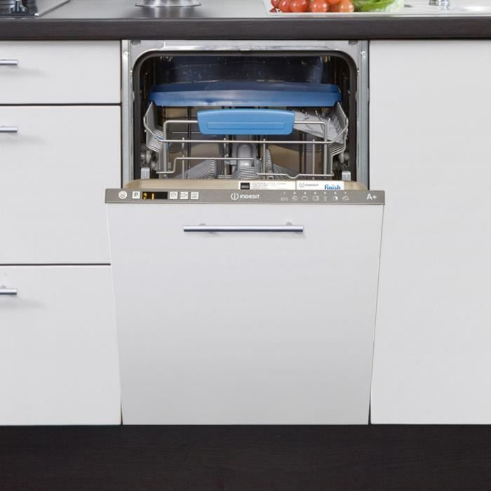 LAVE-VAISSELLE Lave-vaisselle tout intégrable INDESIT DISR57M19CA