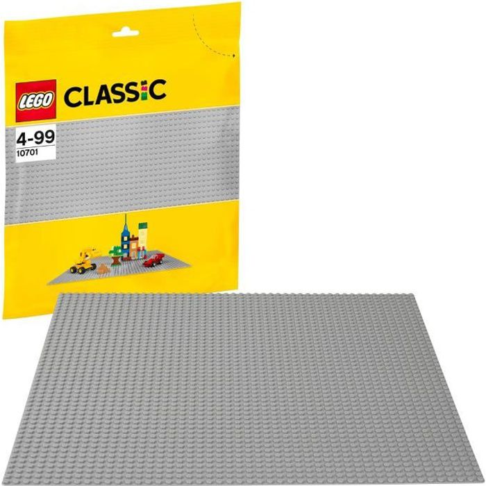 Lego® La Base 10701 De Classic Grise Plaque BWCoQxerd